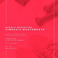 ESCOLA DEPORTIVA | Ximnasia de mantemento para o curso 2020/21