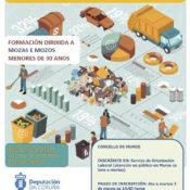 """EMPREGO   Formación en """"Limpeza de espazos abertos e instalacións industriais"""""""