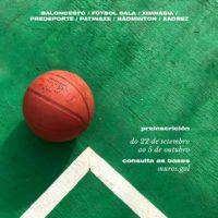 DEPORTES   Escolas deportivas municipais curso 2021/22